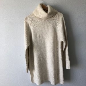Topshop Oversized Ribbed Sweater Size 4-6